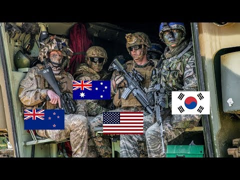 Massive Amphibious Landing Exercise With ROK, US, Australian, And NZ Forces