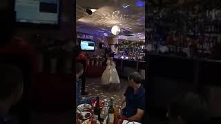 Свадьба Петровых, первый медленный танец жениха и невесты!