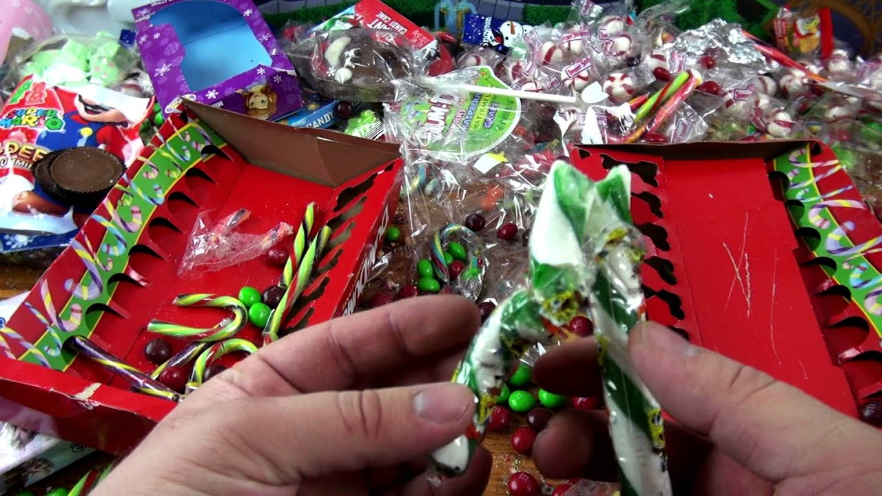 Candy Christmas.A Lot Of Christmas Candy