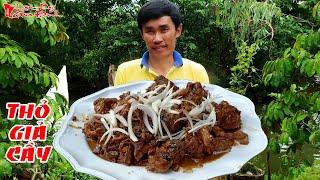 Bí Quyết Nấu Món Thịt Thỏ Giả Cầy Đậm Vị Miền Tây Nam Bộ Chiêu Đãi Khách   NKGĐ