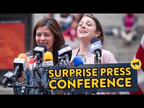 Surprise Press Conference