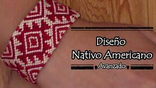 Pulsera de Hilo DiseГ±o Nativo Americano
