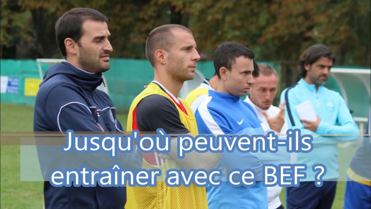 formation au brevet d u0026 39 entraineur de football  bef