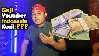 GAJI YOUTUBER INDONESIA KECIL..???   ini penyebabnya..!!! Youtuber Pemula Wajib Tau..!!