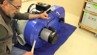The Down To Earth Woodworker: Dust Collector Part 2 - Prep & Assembly