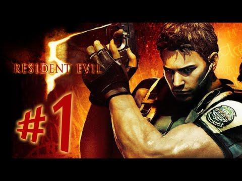 Resident Evil 5 - Parte 1: Infestação Zumbi na África [ Playstation 4 - Playthrough ]