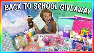 KAYLA'S BACK TO SCHOOL SUPPLIES HAUL + GIVEAWAY 2017! | We Are The Davises