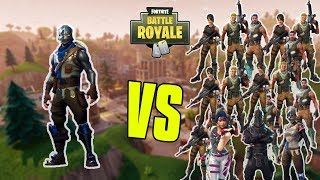 INSANE 1 VS 40 GAME In Fortnite Battle Royale!