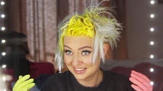 dying my hair NEON YELLOW and becoming the highlight of your life