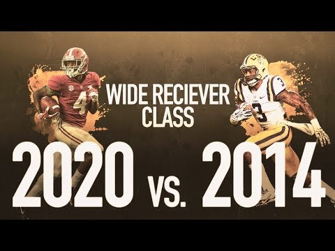 Best Receiver 2020.2020 Nfl Draft The Best Wide Receiver Class Ever Sports