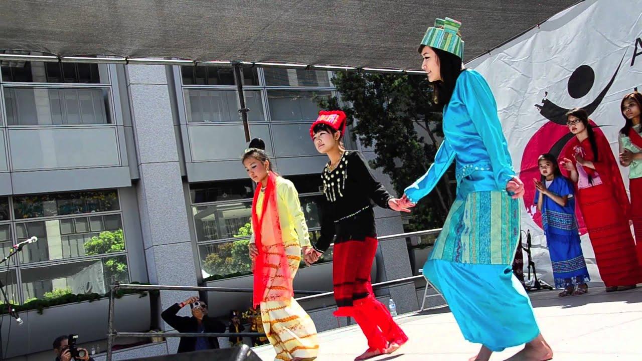 Asian Heritage Street Celebration 2012: Burmese Dancers ...