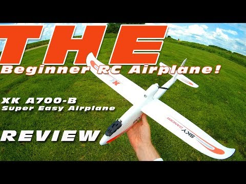 DutchRC - The perfect beginner RC Airplane? - The XK A700-B - Review
