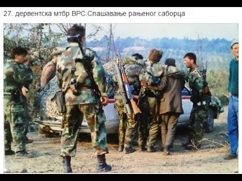 Saradnja HVO I VRS - Zajednički Napad Na Zavidoviće 1993. Godine