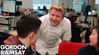 Behind the Scenes on Gordon Ramsay's DASH Game