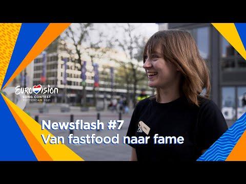 Fastfoodmedewerker schittert als stand-in Oekraïne | Newsflash #7 | Eurovision 2021