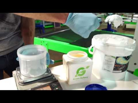 How to Screen Print Water Based Low Cure Ink on Polyester