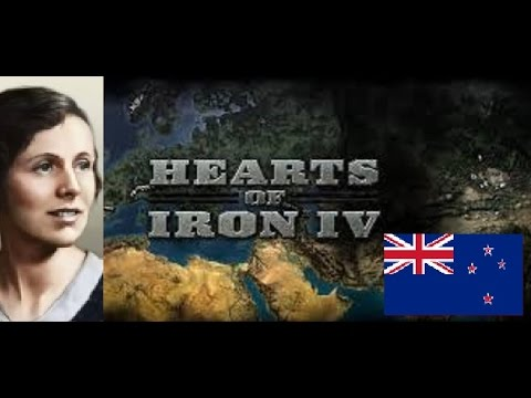 Hearts of Iron IV - Communist New Zealand 1