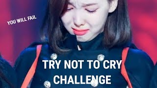 TWICE Try Not To Cry Challenge