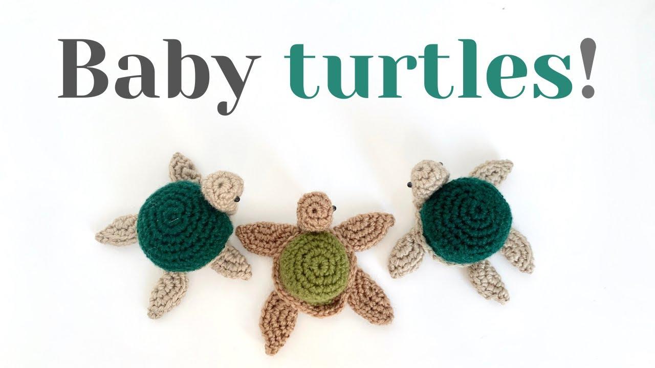 Crochet Pattern Cute Turtle Amigurumi PDF | 720x1280