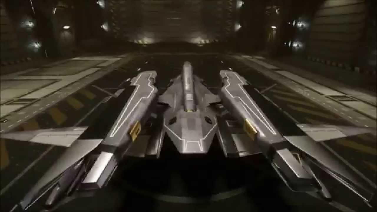 Mustang Alpha Amp Beta In Hangar Interior Star Citizen