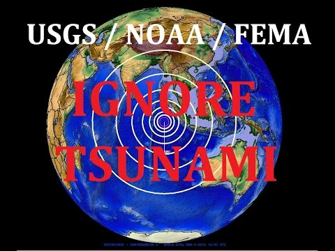 3/02/2016 -- Large Earthquake (M7.8) + Tsunami in Indonesia - US Agencies IGNORE Tsunami