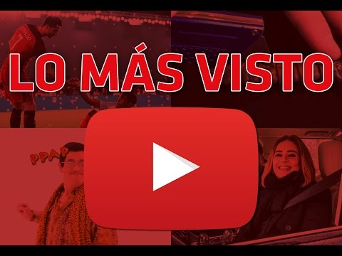 Los 5 videos m s vistos en youtube 2016 youtube - Los videos mas vistos ...
