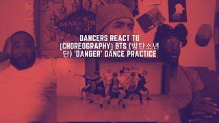 Dancers React to [CHOREOGRAPHY] BTS (방탄소년단) 'Danger' dance p…