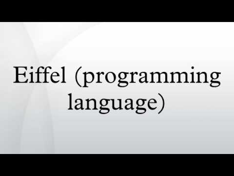 Eiffel (programming language)