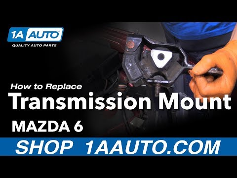 How to Replace a Transmission Mount on a 2003-08 Mazda 6