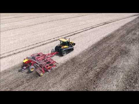 Tillage 2017 - Drone Footage - George Walshe Agri Cultivating With Challenger And Vaderstadt