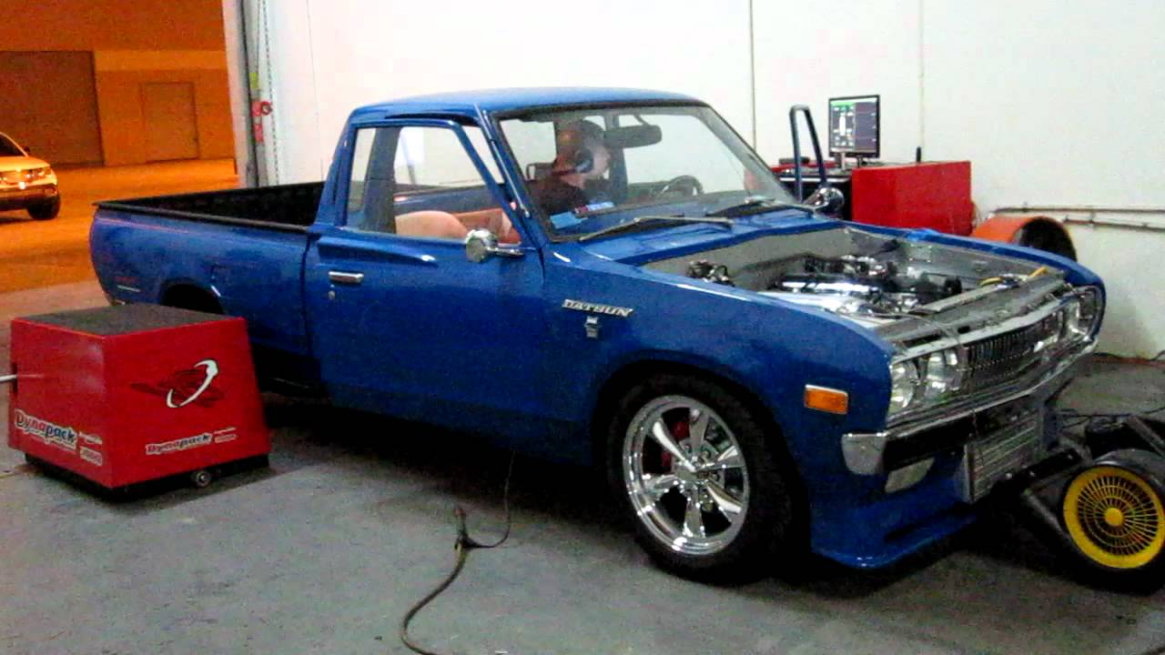 Bisimoto Tuning Of Boosted Old School Datsun Pickup Truck