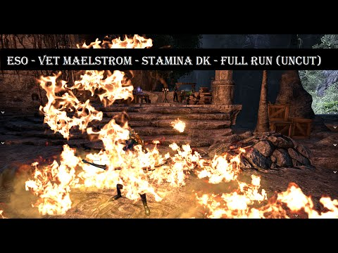 Vet Maelstrom Arena - Stamina DragonKnight - Full Run