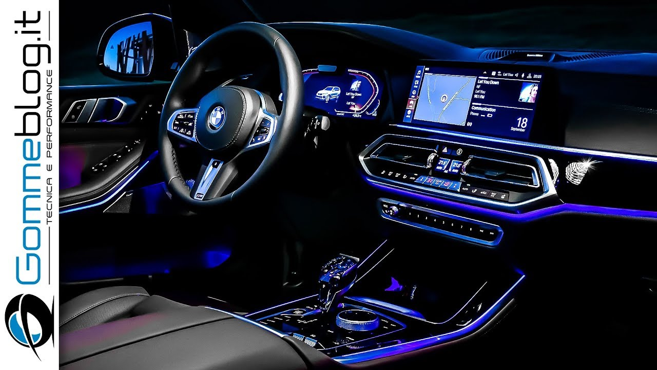 Bmw X5 2019 Interior The Best Ambient Lighting Or Not
