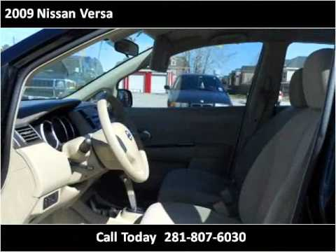 2009 Nissan Versa Used Cars Houston,TX Auto Finance