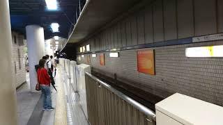 横浜市営地下鉄3000R形3421F 普通あざみ野行き 新横浜駅到着