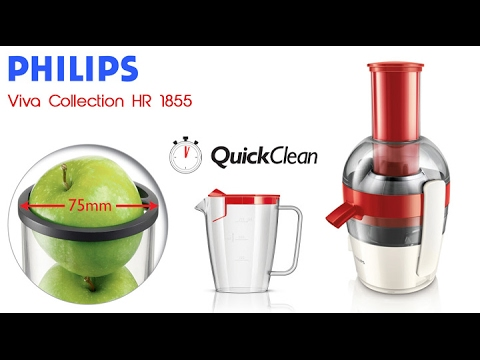 Соковыжималка электрическая Philips HR1823/70 - YouTube