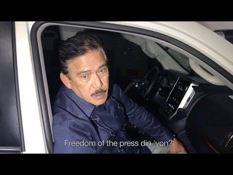 Sotto claims Inquirer.net will delete articles on Pepsi Paloma