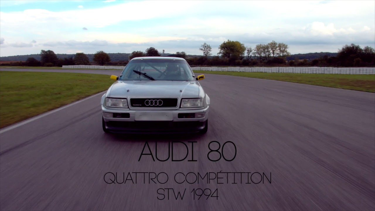 audi 80 quattro competition stw 1994 youtube. Black Bedroom Furniture Sets. Home Design Ideas