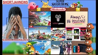 Nintendo Switch: Nintendo Fulfilled Cancer Patient's Wish | Ken in Smash? |+ MORE | ShortJahNews