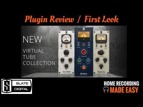 Slate Digital VTC Plugins - Virtual Tube Collection - Plugin Review