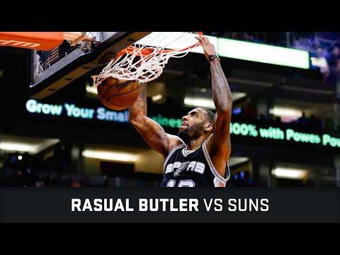 Rasual Butler Highlights: 12 PTS, 3 STL, 1 BLK vs Suns (21.02.2016)