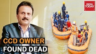 Cafe Coffee Day Owner VG Siddhartha's Body Found in Netravati River After 36 Hours