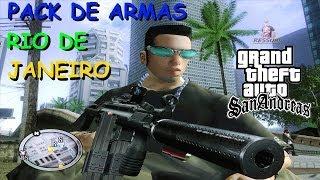 DOWNLOAD PACK DE ARMAS GTA RIO DE JANEIRO PARA GTA SAN ANDREAS FULL HD 1080p
