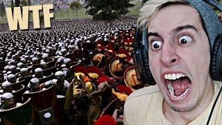 50.000 ROMANOS vs 400 ESPARTANOS !! - Simulador de Batallas Epicas