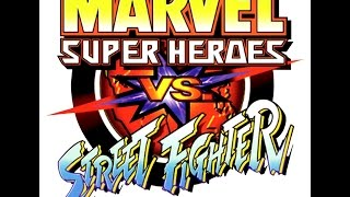 Marvel Super Heroes Vs. Street Fighter OST (HQ)