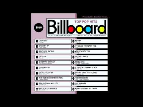 Billboard Top Pop Hits  1989