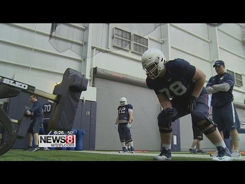 Randy Edsall says offensive line will be key to UConn