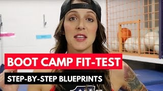 Ultimate Boot Camp FIT-TEST : Get Full Fit-Test Step-By-Step Exercise Template