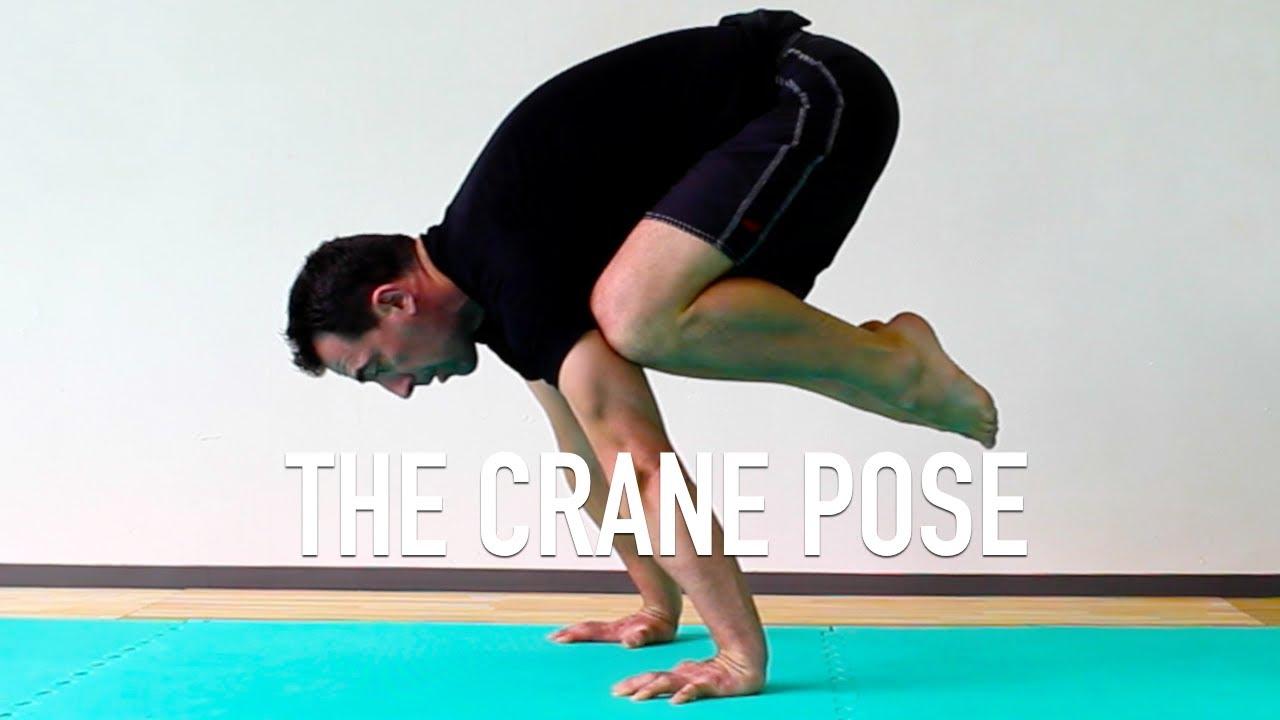Crane Pose Setup Preparation For Tuck Planche Youtube