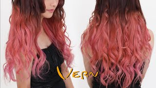 Ombre Wavy Hair | Long Layered Haircut Tutorial – Vern Hairstyles 53